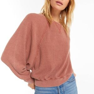 Z Supply Claire waffle top